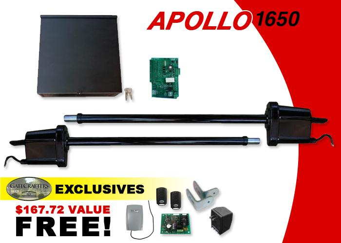 Apollo 1650 Dual Opener w/ Free DIY Kit (1650) - 836 Board