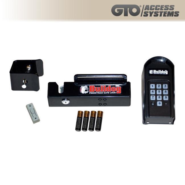Gto Linear Pro Bulldog Pedestrian Gate Lock Fm145