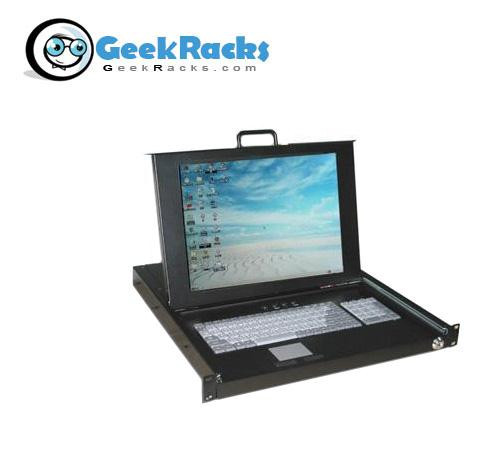 "15"" 1U Rackmount LCD Console Drawer by Geek Racks (SKVMD)"