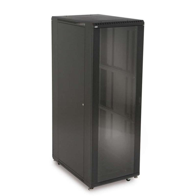 "37U  LINIER® Server Cabinet - Glass/Vented Doors - 36"" Depth by Kendall Howard (3100-3-001-37)"