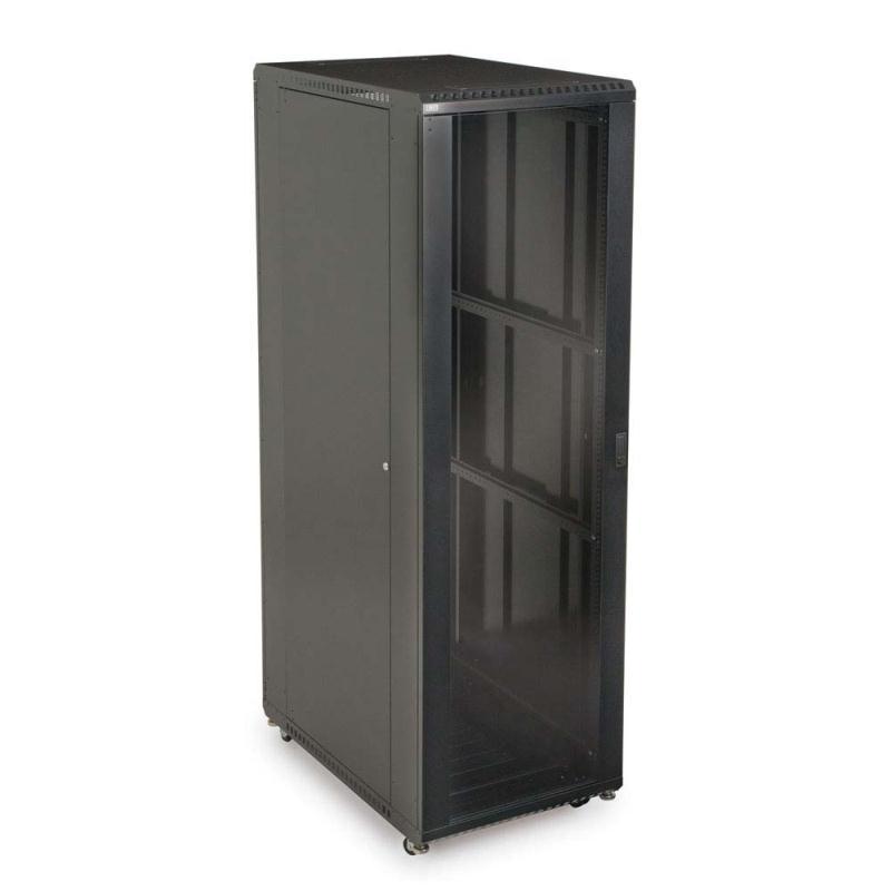 "42U LINIER Server Cabinet - Glass/Vented Doors - 36"" Depth by Kendall Howard  (3100-3-001-42)"