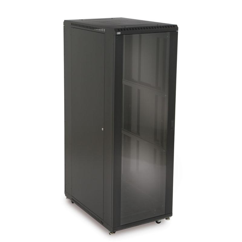 "37U LINIER Server Cabinet - Glass/Solid Doors - 36"" Depth by Kendall Howard (3101-3-001-37)"