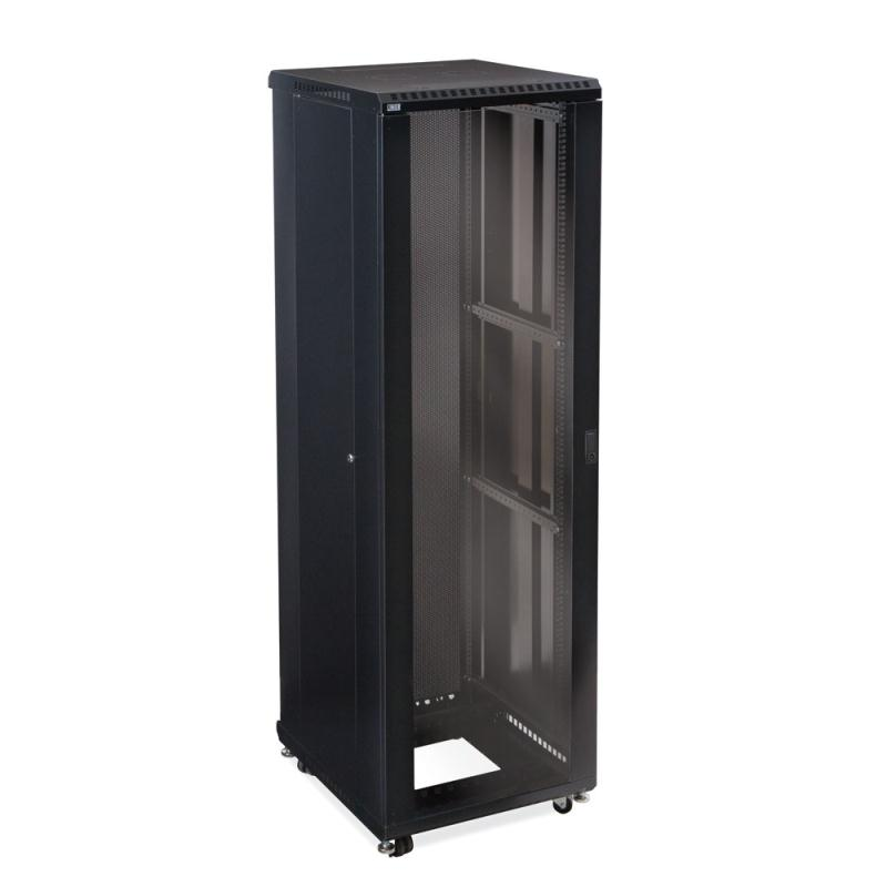 "42U LINIER Server Cabinet - Glass/Glass Doors - 24"" Depth by Kendall Howard (3103-3-024-42)"