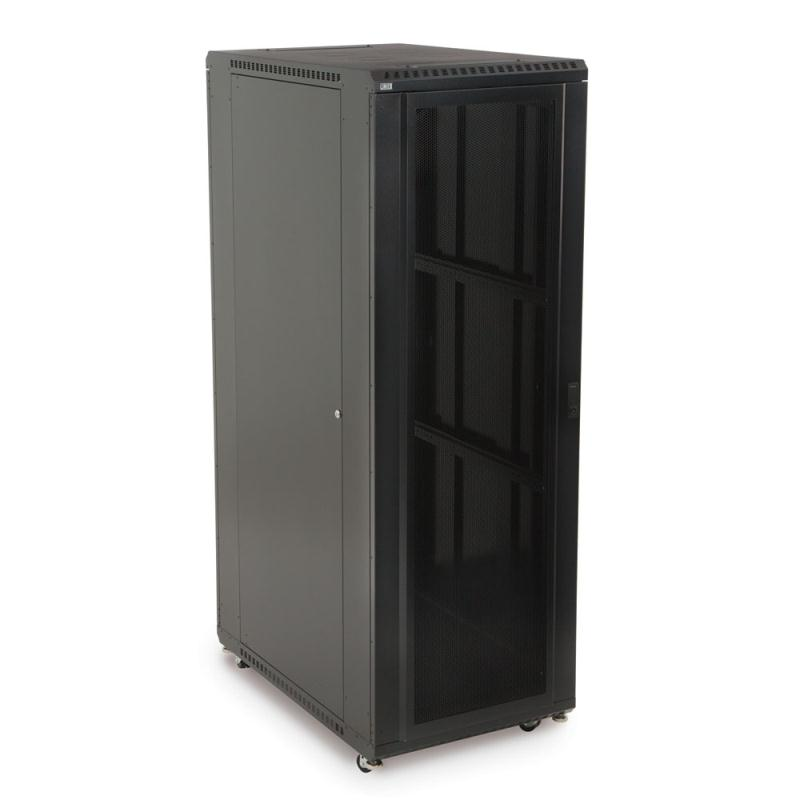 "37U LINIER Server Cabinet - Convex/Glass Doors - 36"" Depth by Kendall Howard (3102-3-001-37)"