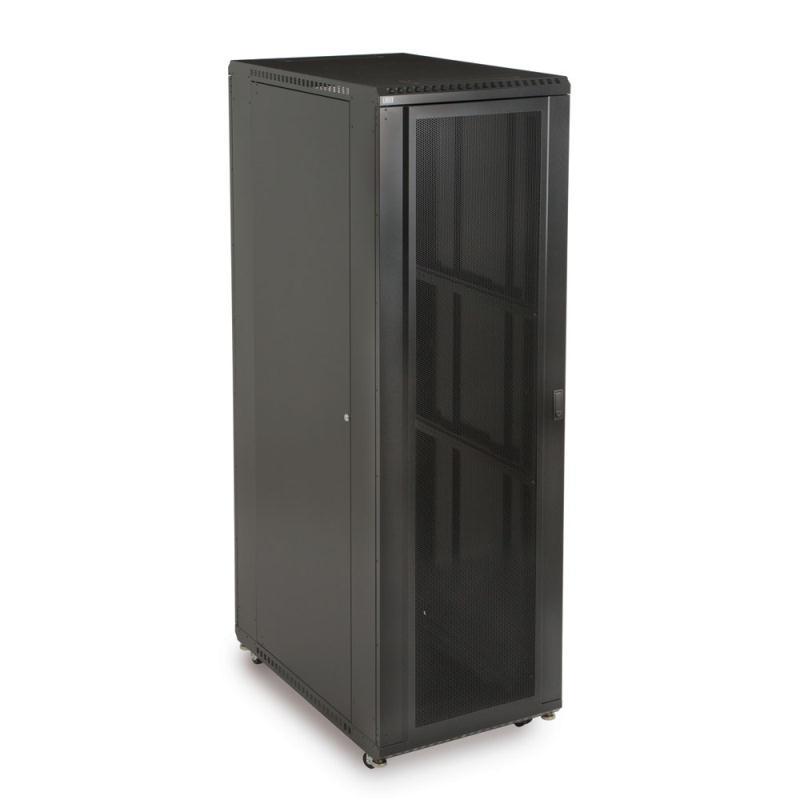 "42U LINIER Server Cabinet - Convex/Glass Doors - 36"" Depth by Kendall Howard (3102-3-001-42)"