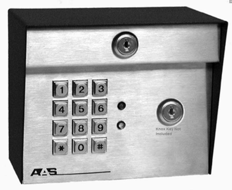 Advantage DK ADV-1000-knox Digital Keypad With Knox Emergency Access Cutout