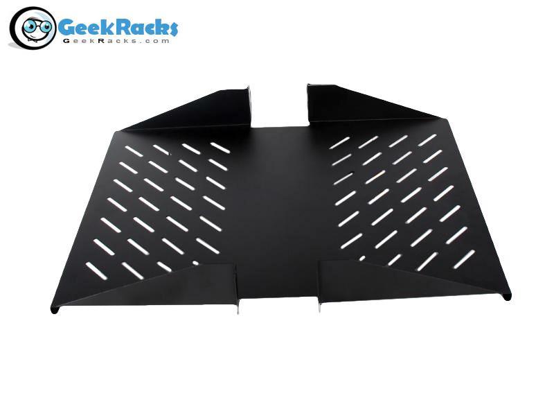Vented Centerline Shelf by Geek Racks (FS-EDO/KDO)