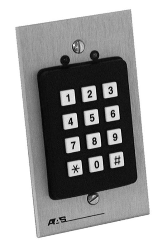 Advantage DKLP 19-100sg Flush Mount Wired Digital Keypad