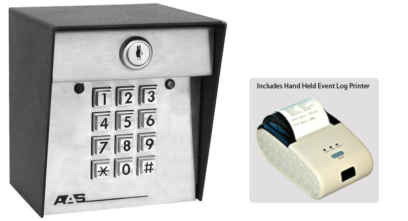 Advantage DKS II Event Log Keypad with Hand Held Printer