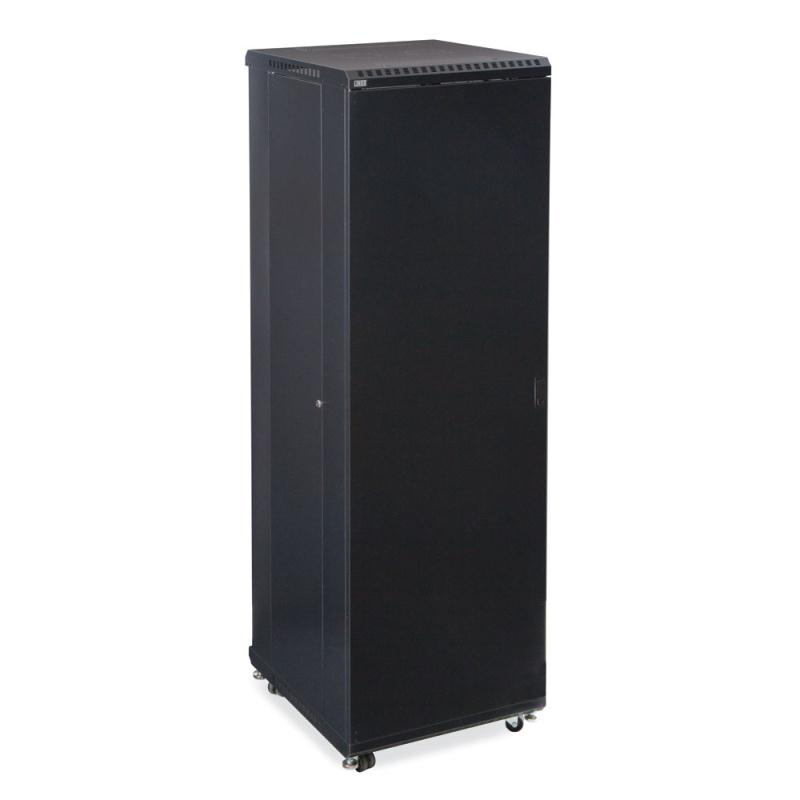 "42U LINIER Server Cabinet - Solid/Convex Doors - 24"" Depth by Kendall Howard (3104-3-024-42)"