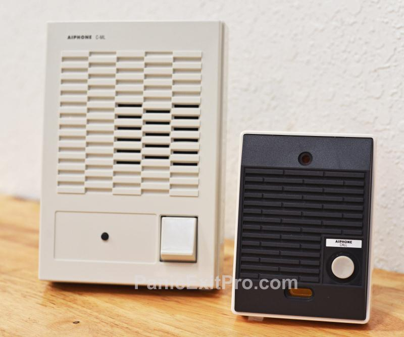 Aiphone Classic Voice Door Answering Intercom System - 1 Indoor Station(C-123L/A)