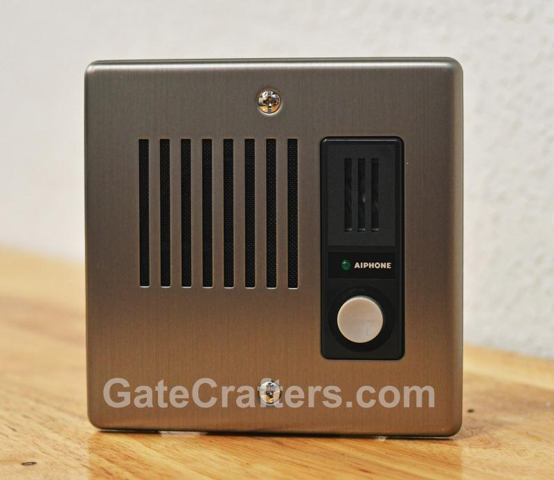 Aiphone Flush Mount Stainless Steel (2 gang) Door Station (IE-JA)