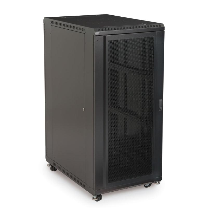 "27U LINIER Server Cabinet - Convex/Convex Doors - 36"" Depth by Kendall Howard (3105-3-001-27)"