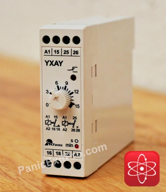 PanicExitPro Door Release Control Timer Relay Switch