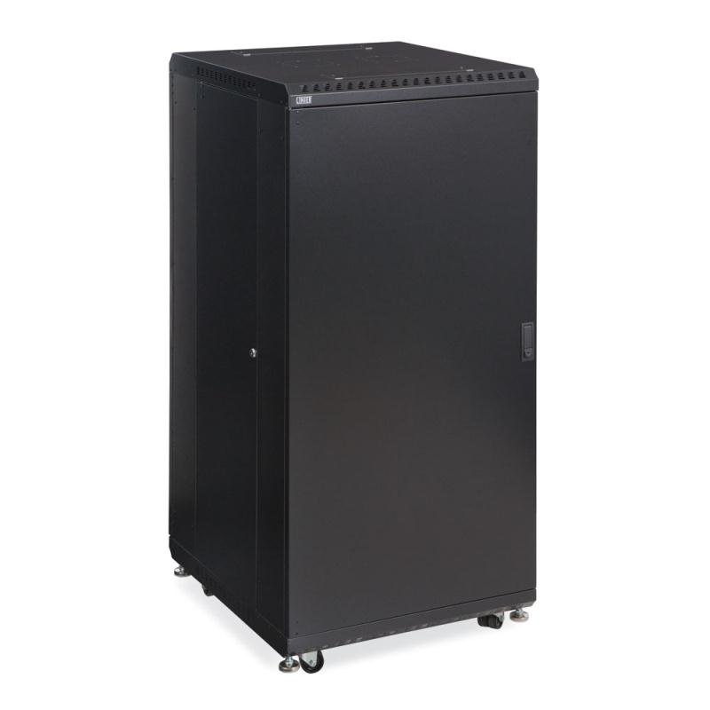 "27U LINIER  Server Cabinet - Solid/Convex Doors - 24"" Depth by Kendall Howard (3104-3-024-27)"
