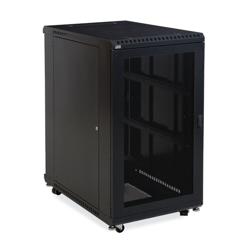 "22U LINIER Server Cabinet - Vented/Vented Doors - 36"" Depth by Kendall Howard (3107-3-001-22)"