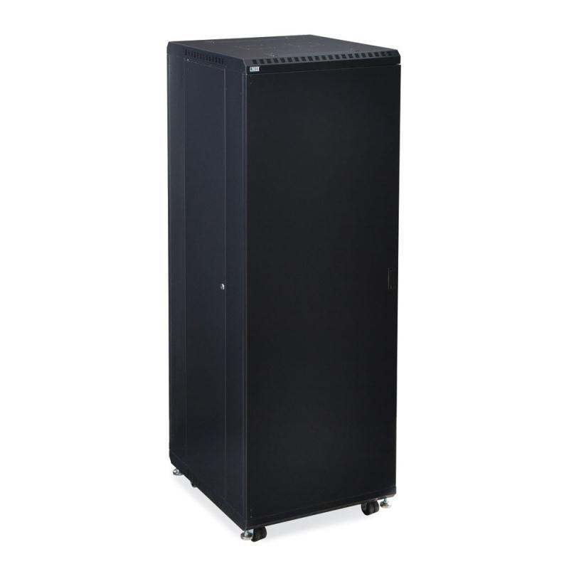 "37U LINIER Server Cabinet - Solid/Solid Doors - 24"" Depth by Kendall Howard (3108-3-024-37)"