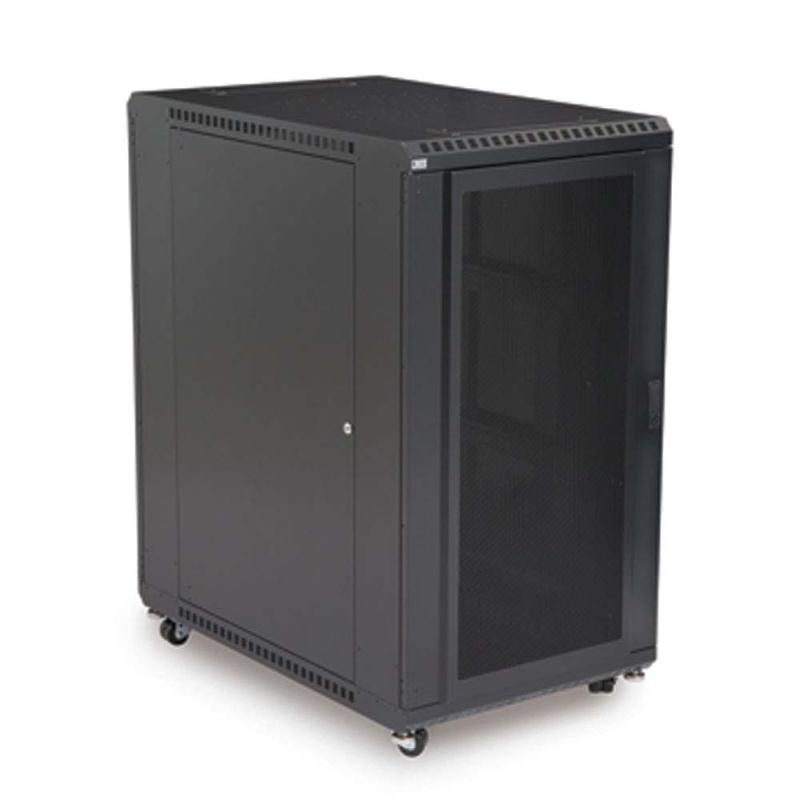 "22U LINIER Server Cabinet - Convex/Vented Doors - 36"" Depth by Kendall Howard (3110-3-001-22)"