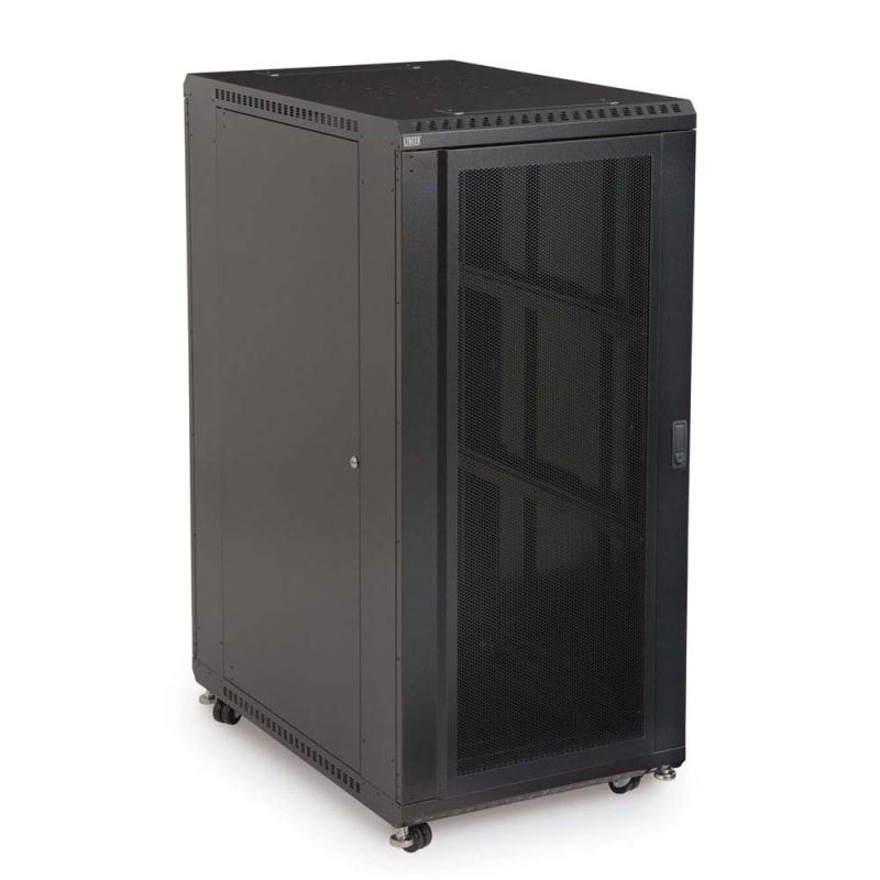 "27U LINIER Server Cabinet - Convex/Vented Doors - 36"" Depth by Kendall Howard (3110-3-001-27)"