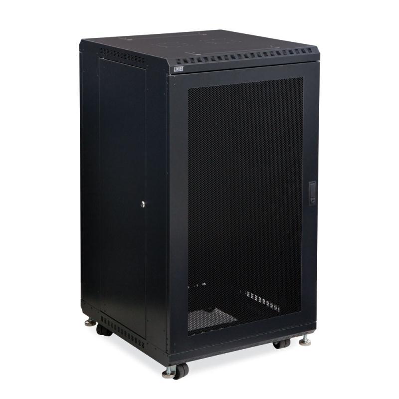 """22U LINIER Server Cabinet - Vented/Vented Doors - 24"""" Depth by Kendall Howard (3107-3-024-22)"""
