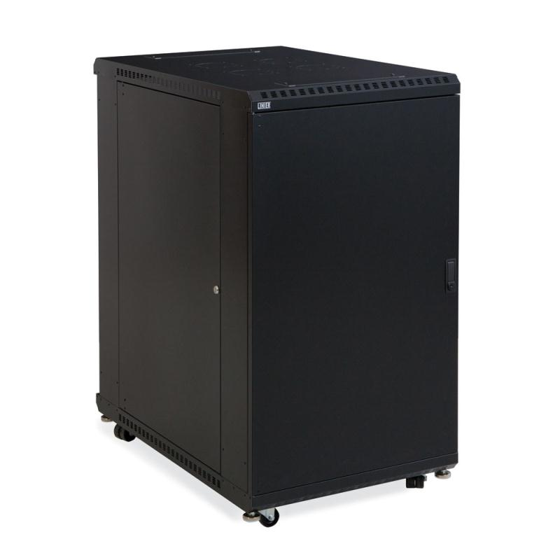 "22U LINIER Server Cabinet - Solid/Solid Doors - 36"" Depth by Kendall Howard (3108-3-001-22)"