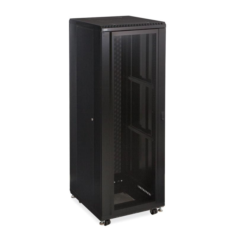 "37U LINIER Server Cabinet - Convex/Vented Doors - 24"" Depth by Kendall Howard (3110-3-024-37)"