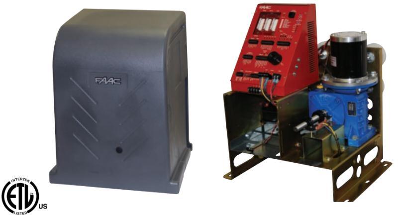 FAAC 120V / 24VDC FSL700 Commercial Single Slide Gate Operator