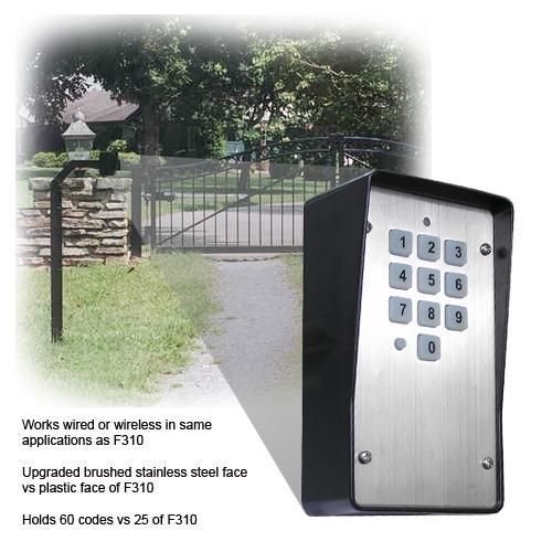 Keystone Wiredwireless Keypad Wkp P Wired 318mhz Wireless