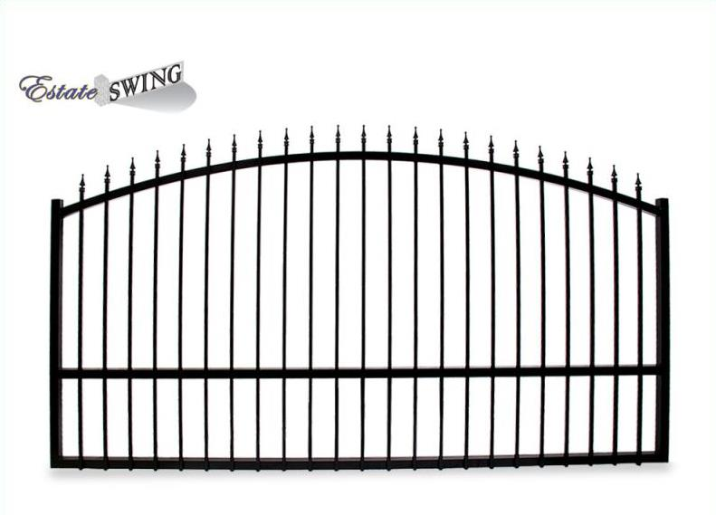 The estate swing 14 foot long single driveway gate made in the usa solutioingenieria Image collections