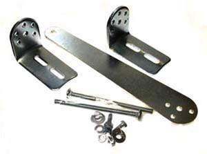 Push to Open Bracket for LiftMaster LA400 & LA412 (50-19503) - Single Gate Opener Bracket Kit