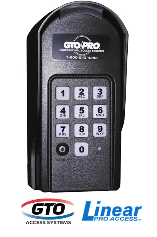 GTO/Linear Pro Digital Keypad (F310) - Wired or Wireless / <i>Mighty Mule #FM137 </i>