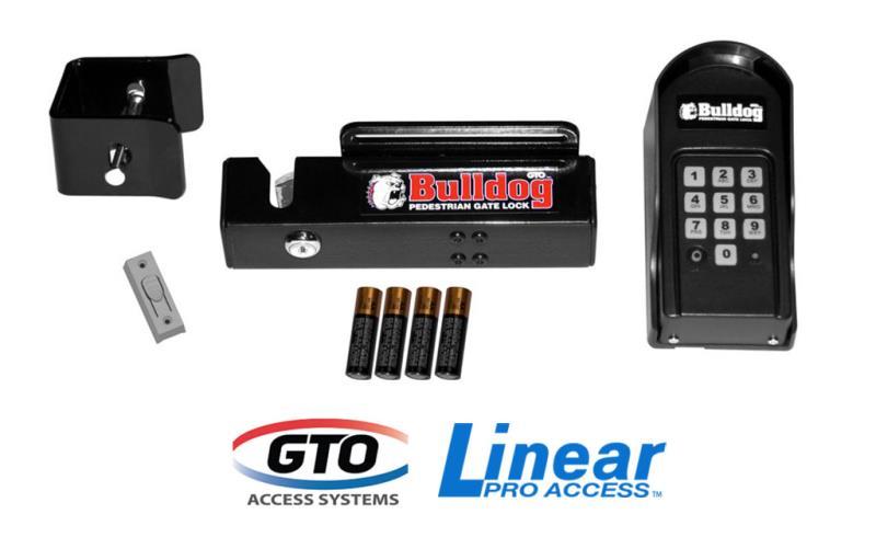 GTO/Linear Pro Bulldog Pedestrian Gate Lock  (FM145)