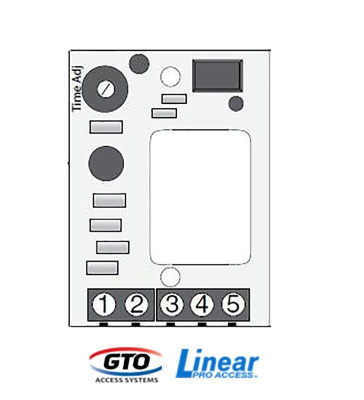 GTO/Linear Pro Lock PC Board (LOCKPCB)