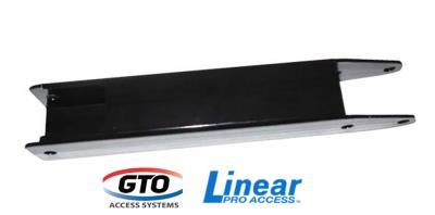 GTO/Linear PRO4000XL Push to Open Single Gate Bracket - Standard