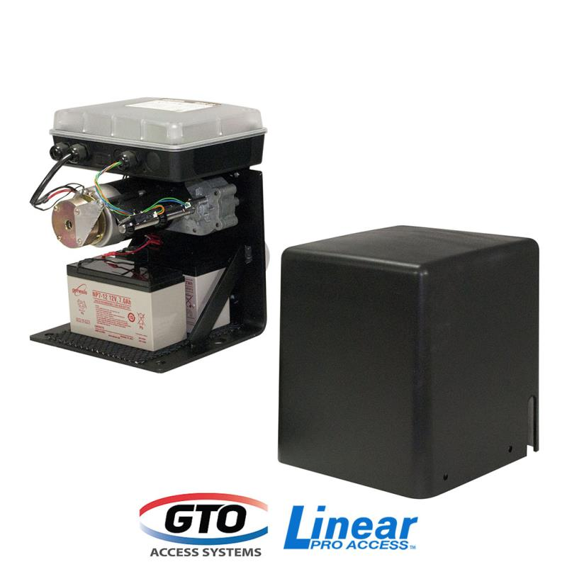 GTO/Linear Pro GPX-SL25 12V Single Slide Gate Opener w/ Brake Lock & FREE Remote
