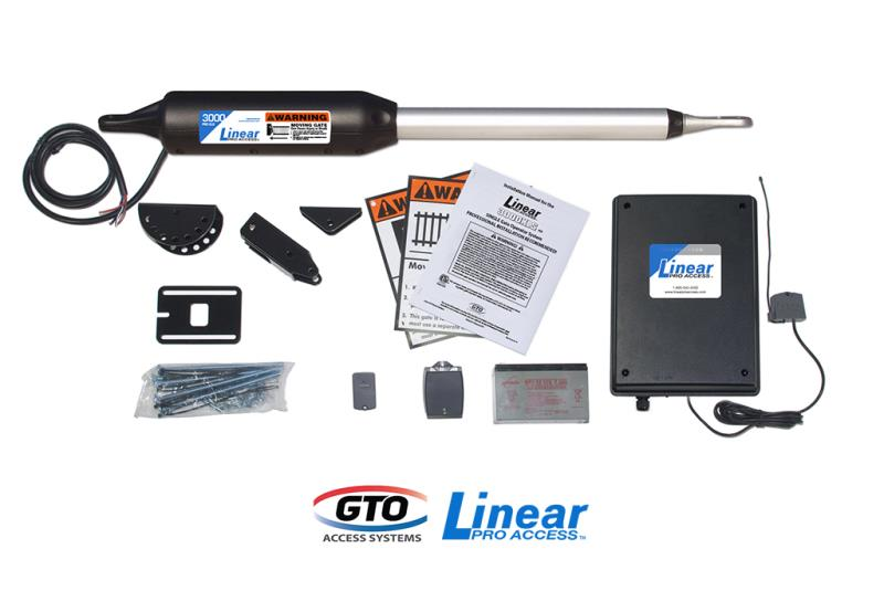 GTO/Linear Pro SW3000XLS Single Gate Opener  w/ Free Extra Remote (PROSW3000XLS)