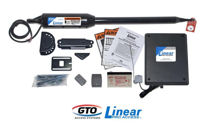 GTO/Linear Pro SW4000 XLS Single Gate Opener  w/ Free Extra Remote (PRO-SW4000XLS)