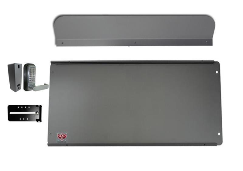 Max Guard Panic Bar Shield Silver Panicexitpro Com