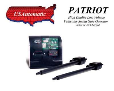 U.S. Automatic Patriot Dual Swing Gate Operator - 433 Receiver Kit