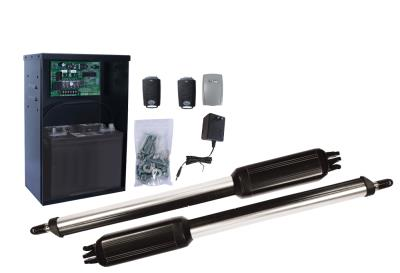 Estate Swing E-S1000D Solar Dual Swing Gate Opener w/ Free Extra Remote - w/ A/C Charging Option