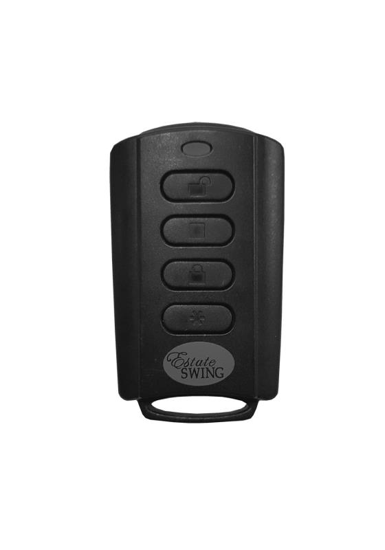 Estate Swing Carriage Door Opener 4 Button Remote Transmitter 433 Mhz