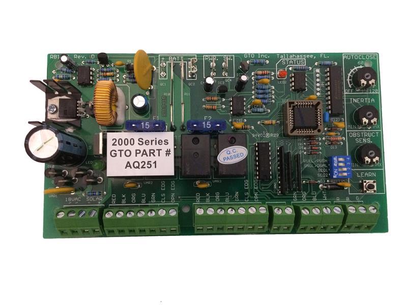 GTO (AQ251) - PC Control Board, DC Slider