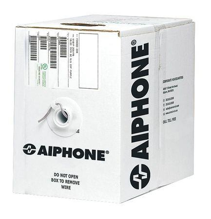 Aiphone Intercom Wire 500', 18AWG, 2 Conductor, mid-capacitance (87118 0250 C)