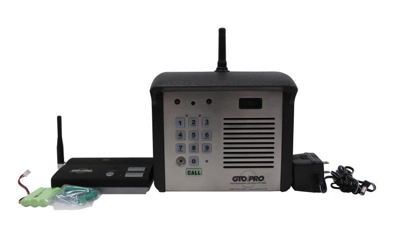 gto linear pro wireless intercom and keypad f3100mbc. Black Bedroom Furniture Sets. Home Design Ideas