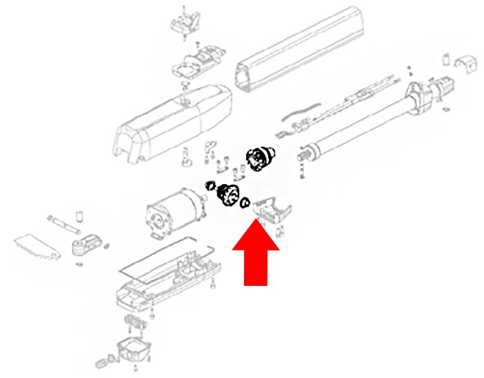 Estate Swing ES 1600 Gear Set  (60202215)