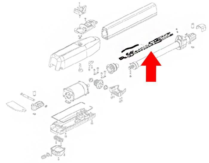 Estate Swing ES1600 Limit Switch Kit(60202325)