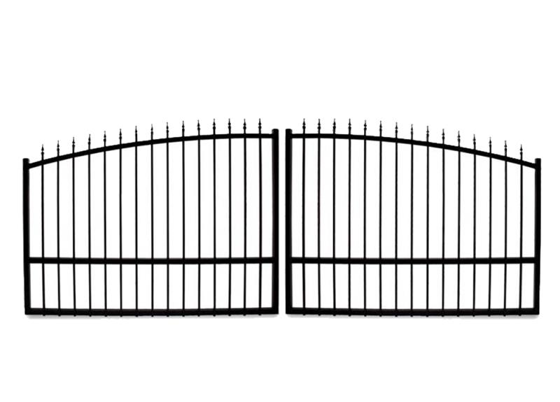 Driveway Gates - Estate Swing 16 Foot Long, Dual Driveway Gate Made in USA