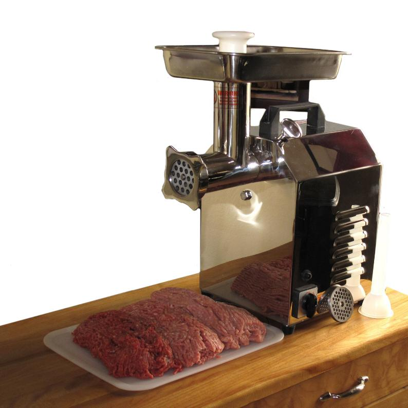 Chicago Food Machinery #8 Electric Meat Grinder