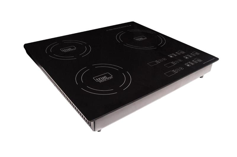 True Induction Triple Burner Induction Cooktop
