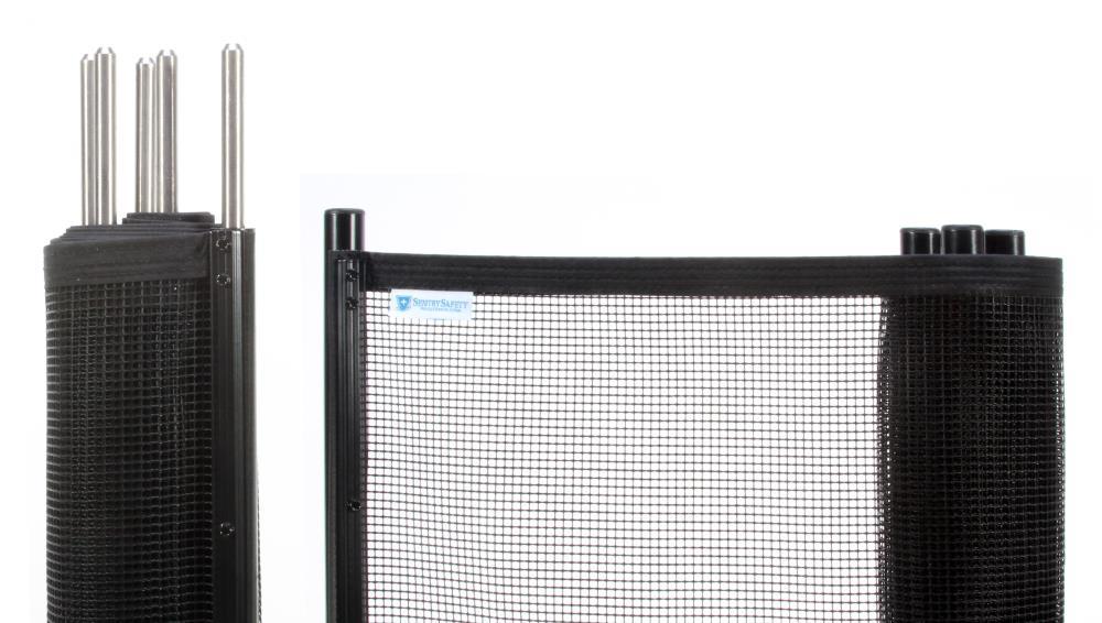 Pool Fence Easy Diy Installation Sentry Visiguard Mesh Fencing